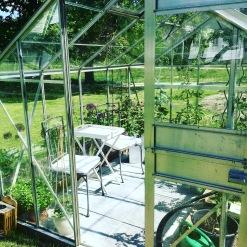 Växthuset förra säsongen.